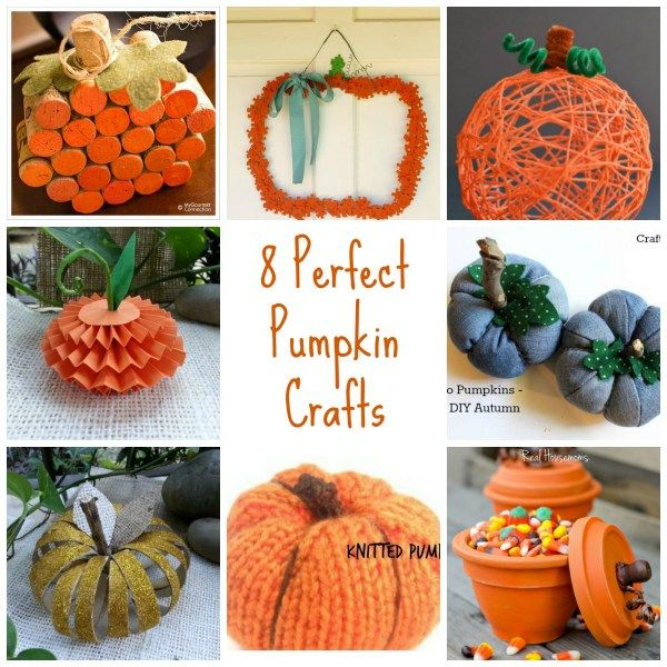 pumpkin crafts for fall halloween projects and decorations - Diy Halloween Projects