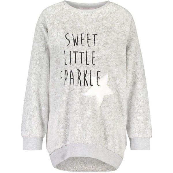 Sweater Fleece Sparkle ❤ liked on Polyvore featuring tops, sweaters, white sweater, fleece sweater, white fleece sweater, sparkly tops and white top