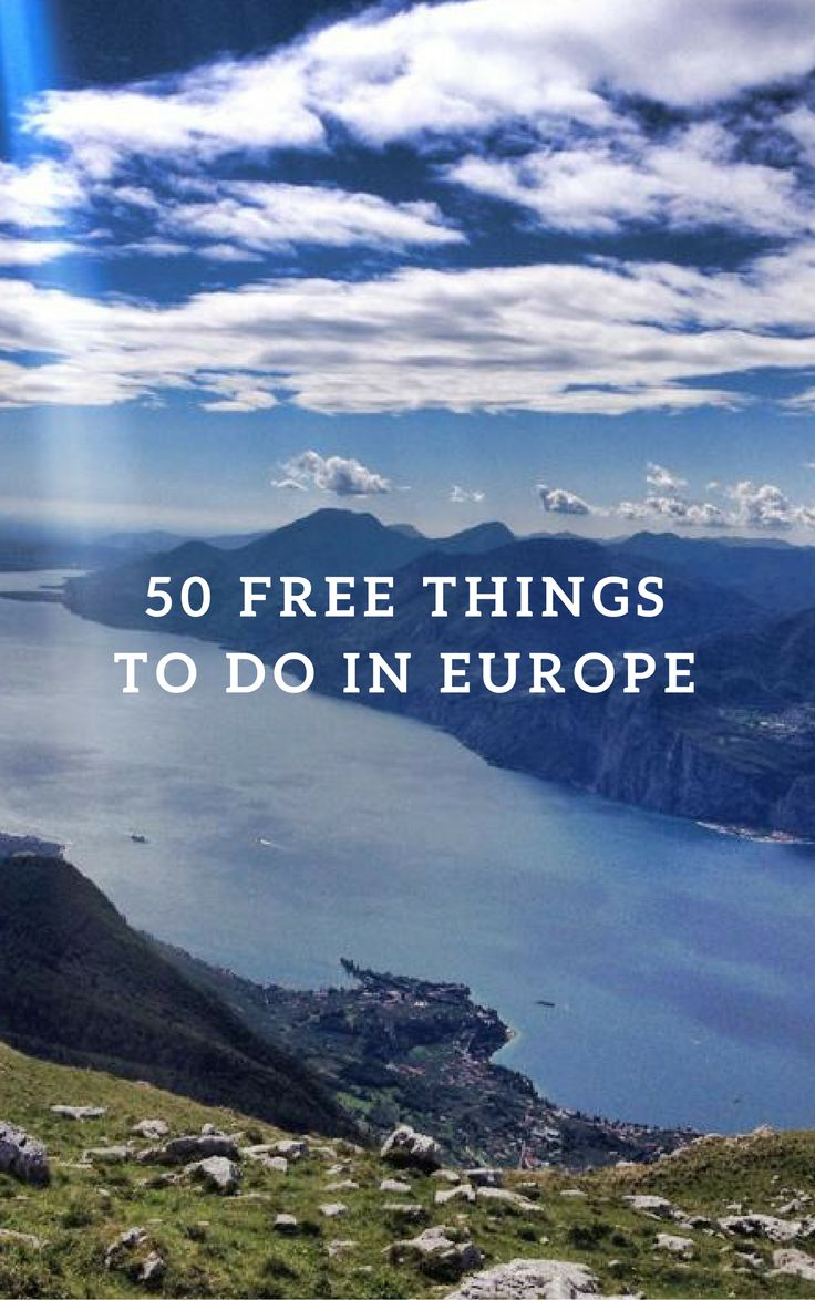 50 Free Things To Do In Europe