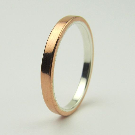 New popular wedding rings copper mens wedding ring for Mens copper wedding rings