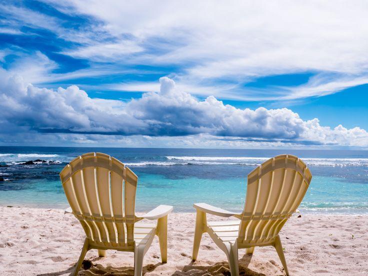 Return to Paradise Beach Resort - this was taken during wet season!