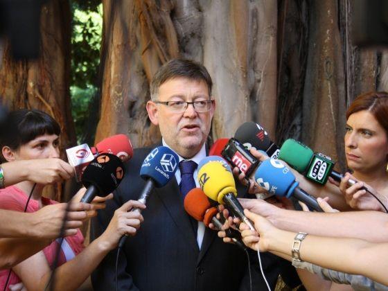 """Ximo Puig: """"Els socialistes obrim la porta del nostre partit a tots els valencians per a donar-los la paraula"""""""