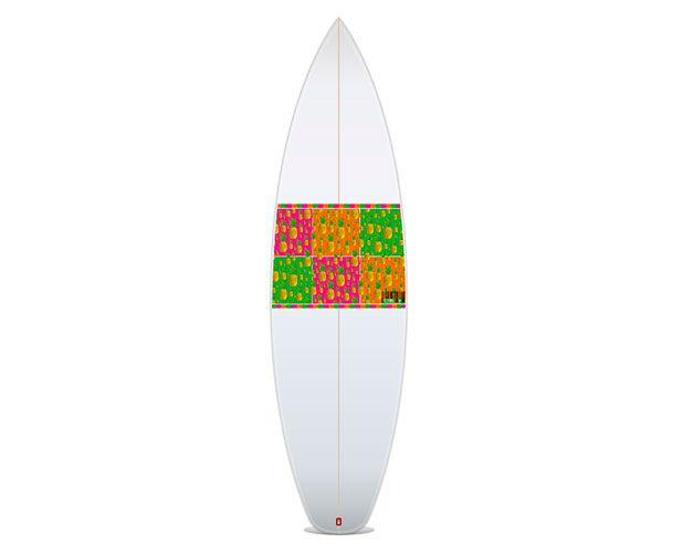 Pop Art Pineapple - Fruit Salad Slaps Slap em on a board, anytime, anywhere!