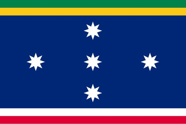 Australian flag proposal _ Charles and Ralph Bartlett's flag (1992)