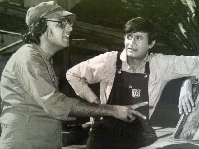 Mahesh Bhatt and Dev Anand.