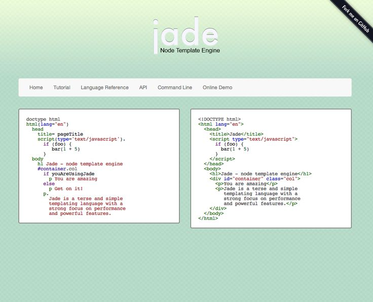 Jade Template Engine With Jade Template Engine To Create Astounding