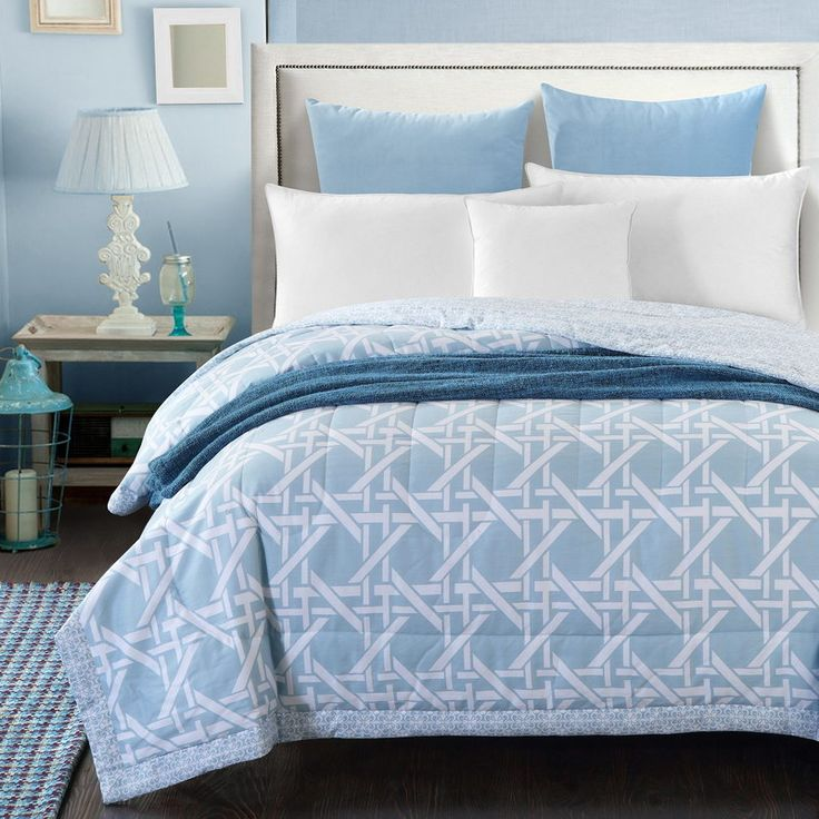 Мода смешанные белые полосы лето одеяло 150*200 см 200*230 см стеганые тонкие одеяла постельные принадлежности Одеяло/пледы #2016148