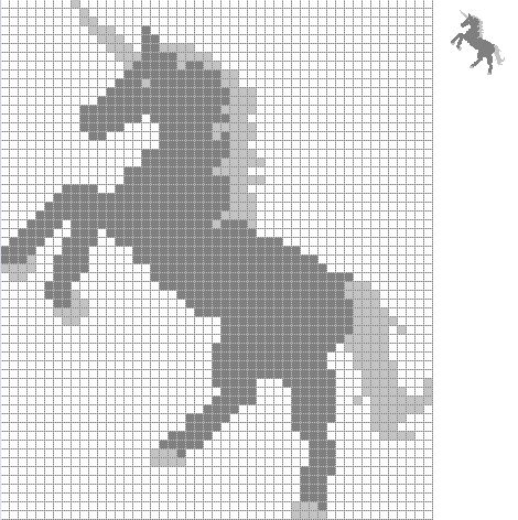 Best 196 Unicornios en punto cruz ideas on Pinterest | Cross stitch ...
