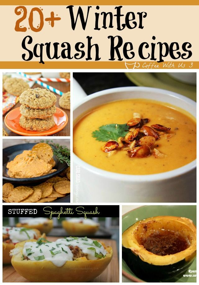 Wintersquash don't seem to get as much credit as their summer counterparts. But there is still a ton of great recipes for Butternut Squash, Spaghetti Squash and Acorn Squash.  And...