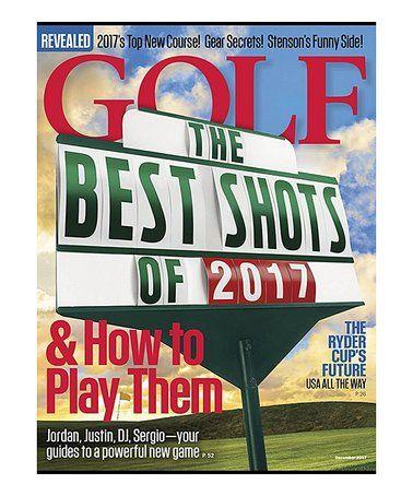 Golf Magazine Subscription