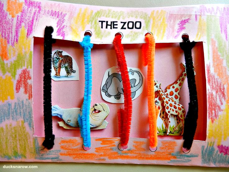 Letter Z is for Zoo preschool craft with free printables