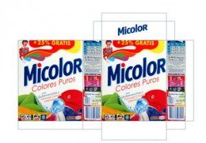 imprimibñe detergente en polvo