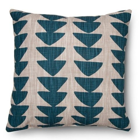 Unique Modern Home Office Decor Ideas   Make Your Office Cozy And  Fashionable With Throw Pillows   Blue Threshold Uneven Triangle Pillow From