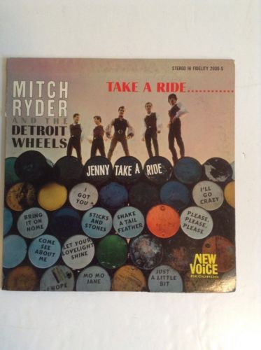 Mitch-Ryder-And-The-Detroit-Wheels-Take-A-Ride-Original-Lp-1966