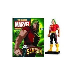 """The Classic Marvel Comics Figurine Collection #105 Doc Samson by Eaglemoss. $21.94. Ages 14+. Comes with collector's magazine. Eaglemoss Collection Lead Figurine. Fully Painted. Each lead piece measures approximately 3"""" tall! Produced in the UK! Rare in the US! Includes original box and plastic bubble and magazine!. - Hand Painted and ready to display!"""