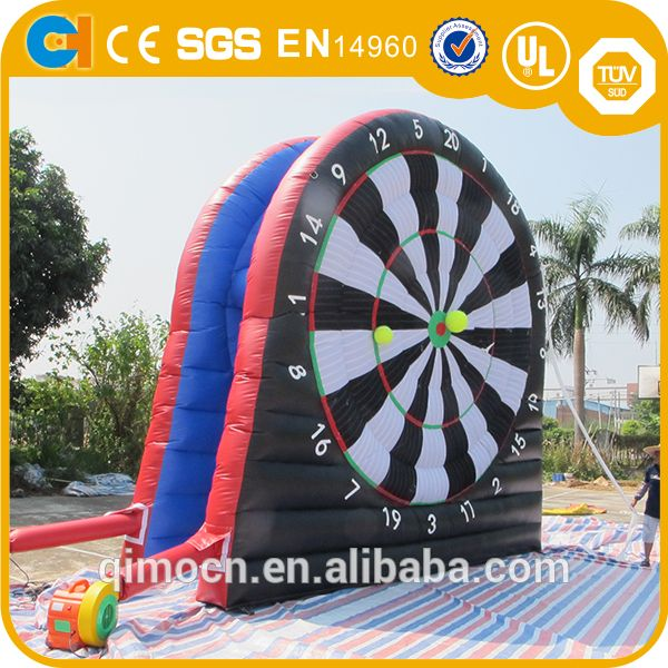 """18ft inflatable foot darts for sale,Inflatable dart game/inflatable soccer darts,Inflatable darts games"""