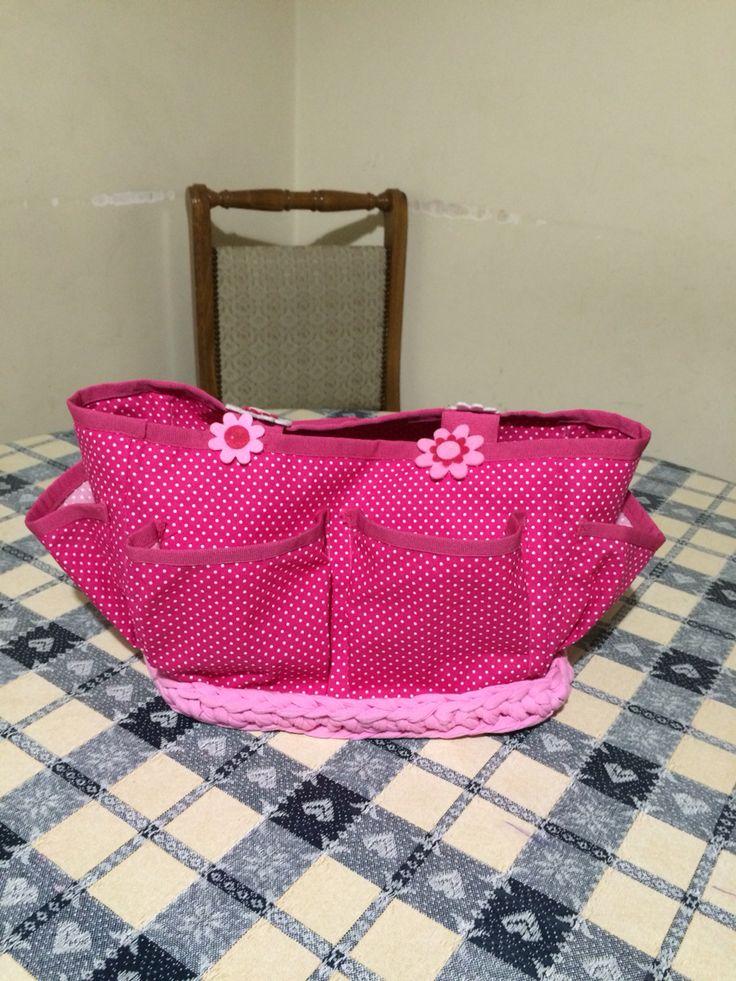 Handmade bag front side