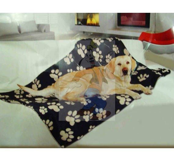 Really beautiful Gifts for our fury friends  Order NOW  Free Shipping Paw Pattern Soft Blanket for Dog and Cuts 39x59in