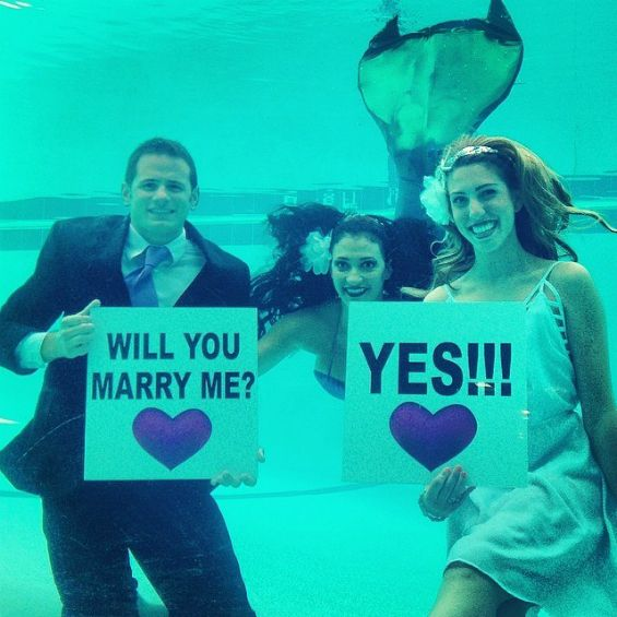 The Sheraton Fort Lauderdale is now offering an underwater wedding package w/ a mermaid officiant! Get the details here.