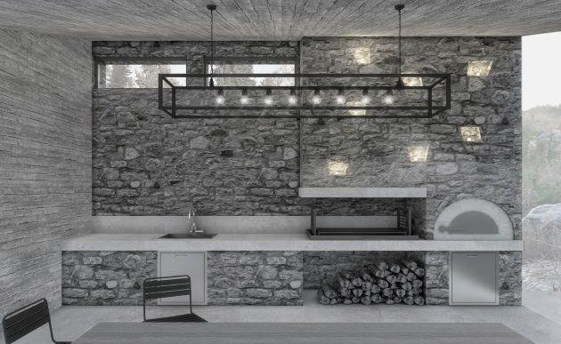Πολυτελή σπίτια: Δες αυτή την εξοχική κατοικία στο Αλιβέρι! - Tlife.gr