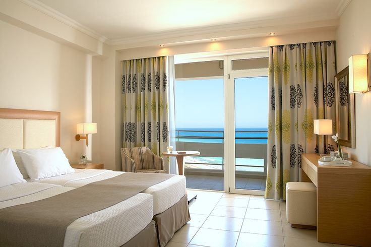 They consist of a master bedroom, spacious en-suite bathroom with bathtub, additional bathroom with shower cabinet and separate living room area. All with private balconies overlooking our lush Mediterranean gardens or our majestic turquoise pool, our suites are the ideal design for a family looking to get away from it all.
