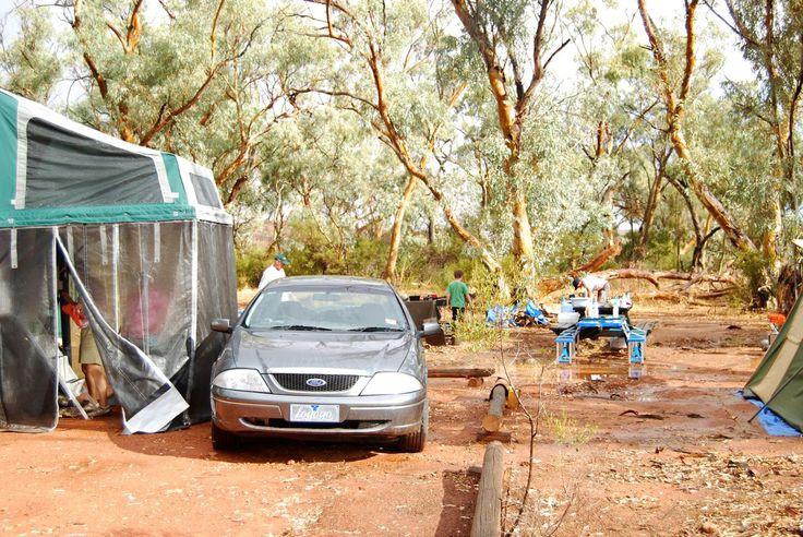 Mutawintji national park, Western New South Wales - recent rain