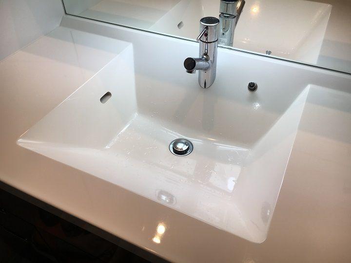 洗面台掃除 陶器ボウルにコーティング剤使ってみた 効果はどうなの 洗面台 掃除 ハウスキーピング