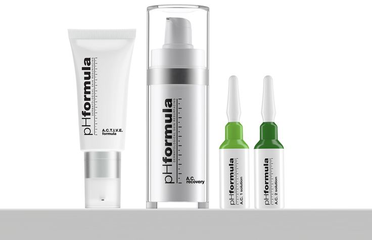 A breakout of adult acne can be upsetting and embarrassing – you thought those days were behind you, after all. But it is more common than you think and there are many different treatment options available. Contact your pHformula skin specialist today for the best advice on how to treat problematic skin. #acne #skincare