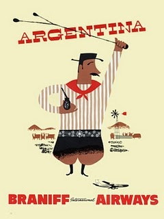 argentina.: Vintage Posters, Travel Posters Ads, Vintage Travel Posters, Airline Posteri