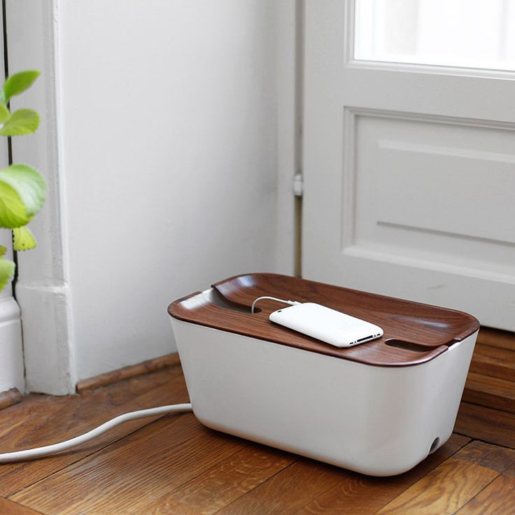 top3 by design - Bosign - hideaway cable manager wht-wal
