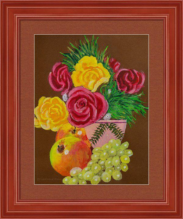Fruit Petals Framed Print By Erich Grant | Home Decor
