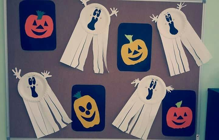 Halloweenská nástěnka