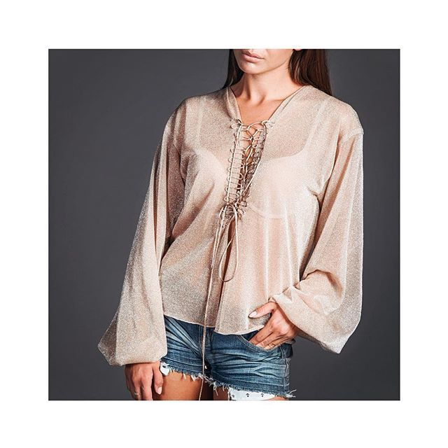 #Ослепительная #Блуза #NudE добавит #роскоши в ваш #гардероб. #Прозрачная…