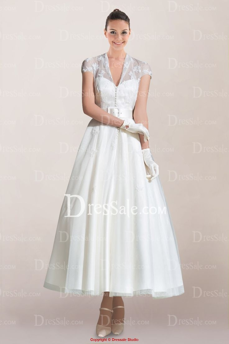 Queen Anne Style Wedding Dresses
