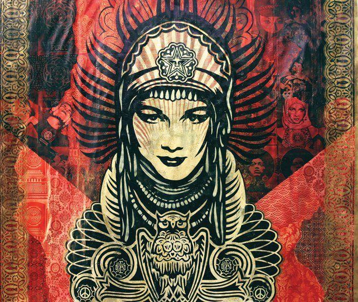 """""""Peace Goddess Mural"""" - 2007"""