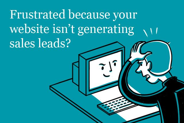 This is original artwork and was created by Overdrive Design for my site I love the frustration shown by this poor business owner.  If you're looking for help to generate more sales leads, contact us for a free consultation with a Market Specialist. http://mccabemarketing.ca/consultation  or call 416-949-6022