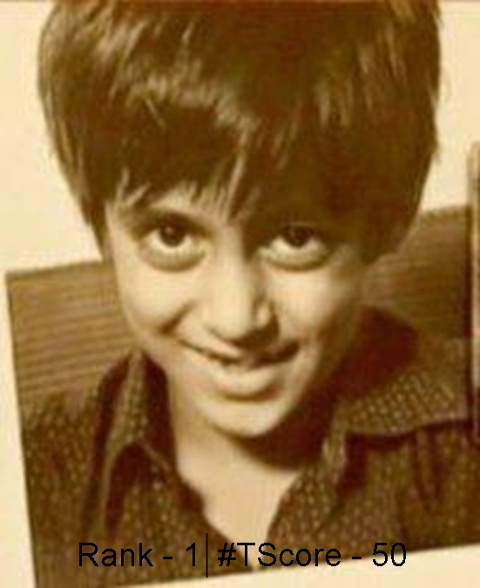 Salman Khan as a kid