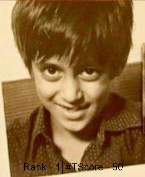 Salman Khan as a kid