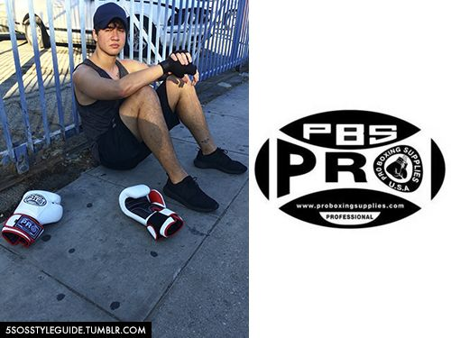 Calum Hood: PBS Pro Boxing Training Gloves (Pro Boxing Supplies) Exact