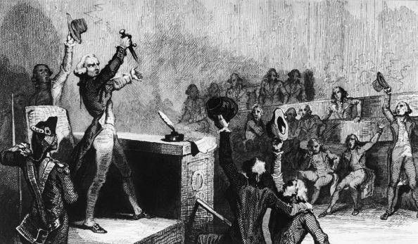 On 9 Thermidor, Year 2 (July 27, 1794), Robespierre was shouted down during a speech shortly after which he was executed by means of the notorious guillotine, thus beginning the reactionary phase of the French Rev., properly named the Thermidorian Reaction.