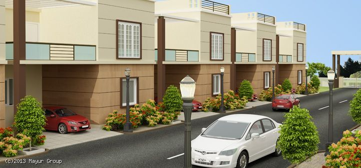 Mayur Pride - life at utmost privacy, ample sunlight and superior ventilation.