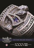NFL: America's Game - 2003 New England Patriots - Super Bowl Xxxviii [DVD], 29396269