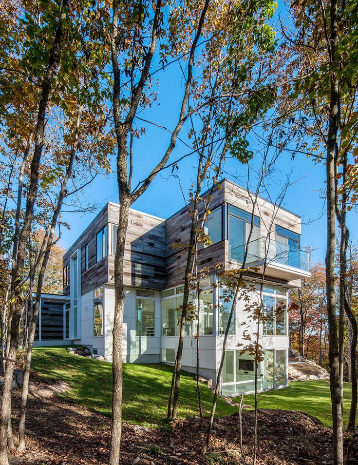 Captivating The Gatineau Hills Residence, Embraced By Nature | Nimvo   Interior Design  U0026 Luxury Homes Good Ideas