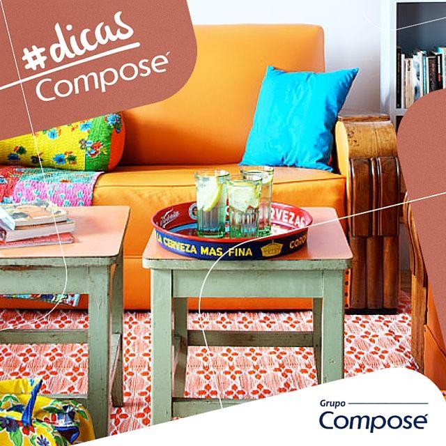 Mesa de centro ou banquinho? Inove na sua decoração. Confira mais em nosso portal: http://bit.ly/1he0QFD #grupocompose #compose #decordesign #decoracao
