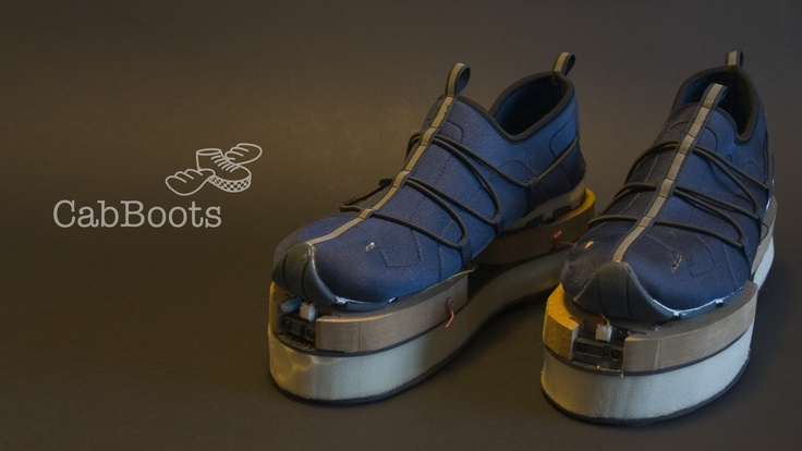CabBoots - Shoes with integrated Guidance System
