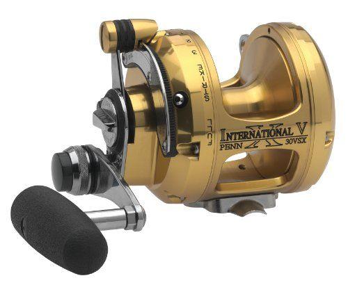Penn Gold Label Series International VSX Extreme Two Speed Reel - http://bassfishingmaniacs.com/?product=penn-gold-label-series-international-vsx-extreme-two-speed-reel