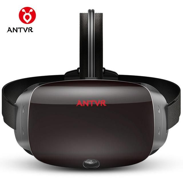"ANTVR Cyclop 5.5""Dual OLED 2K VR Headset Glasses 3D Helmet For PC Steam VR Competitor For HTC Vive Oculus Rift PS VR"