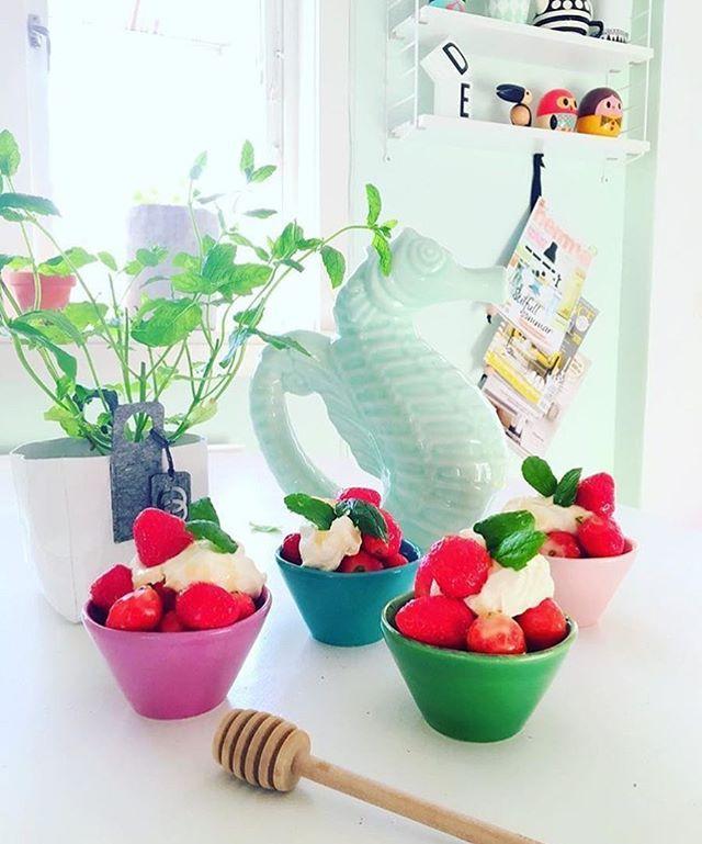 Mmmmh...Delicious summer snack☀️ Regram from @husnummertjugo. #ricedk #summer #goforthefun