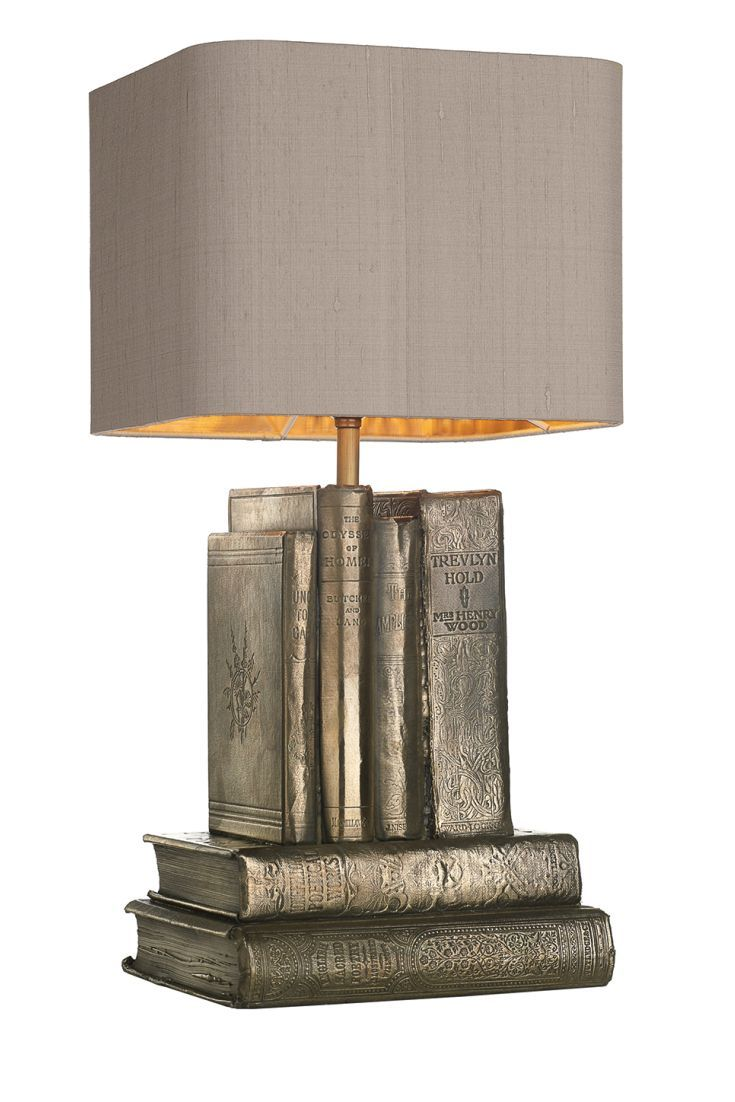 A stunning and unique table lamp featuring a hand crafted base created to  look like a