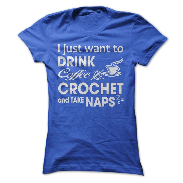 Coffee and Crochet Shirt